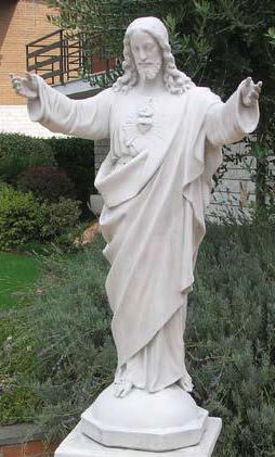 Jesus Statue Sacred Heart Christ Statue Jesus Sculpture